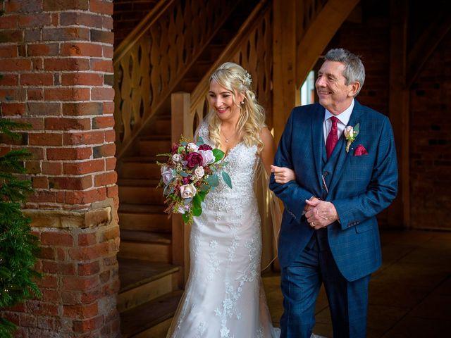 Natalie and Gregg's Wedding in Coleshill, Warwickshire 14