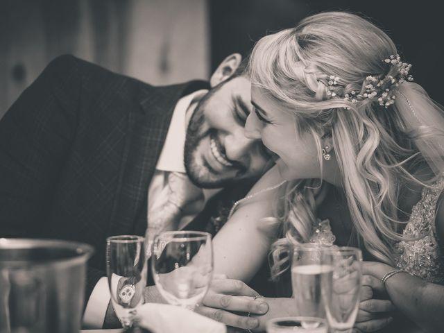Natalie and Gregg's Wedding in Coleshill, Warwickshire 2