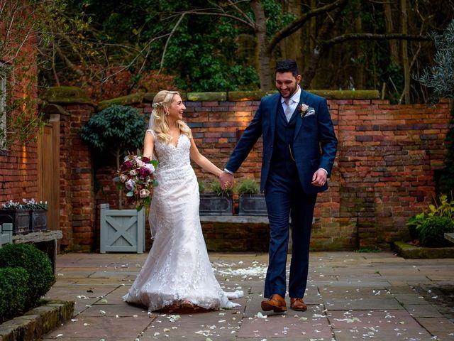 Natalie and Gregg's Wedding in Coleshill, Warwickshire 23