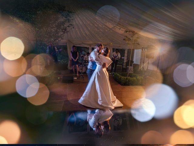 Cordelia & George's wedding