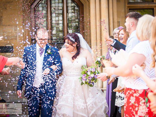 Andrew and Lisa's Wedding in Cheltenham, Gloucestershire 17