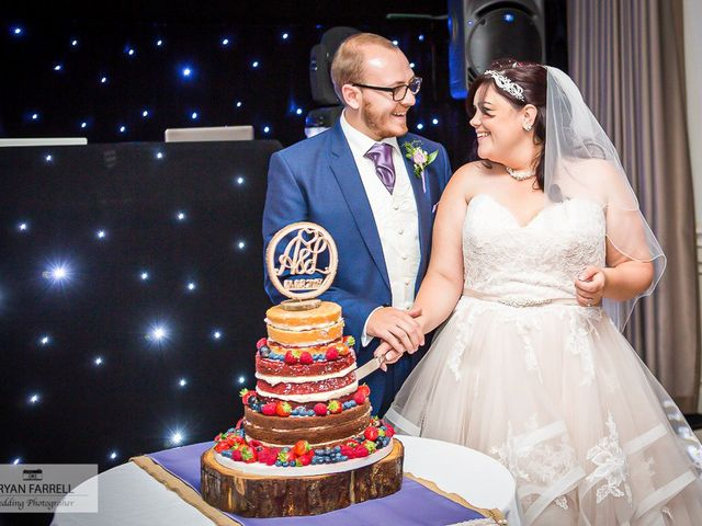 Andrew and Lisa's Wedding in Cheltenham, Gloucestershire 22
