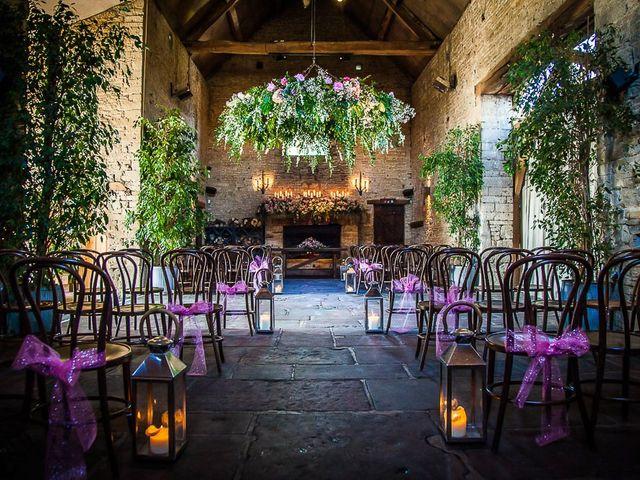 Jordan and Porshia's Wedding in Bibury, Gloucestershire 2
