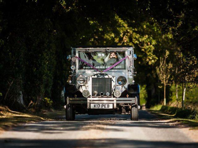Jordan and Porshia's Wedding in Bibury, Gloucestershire 5