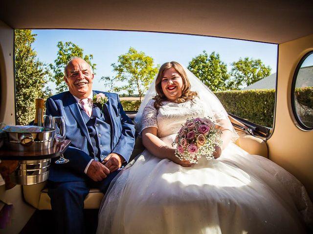 Jordan and Porshia's Wedding in Bibury, Gloucestershire 6