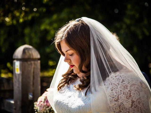 Jordan and Porshia's Wedding in Bibury, Gloucestershire 7