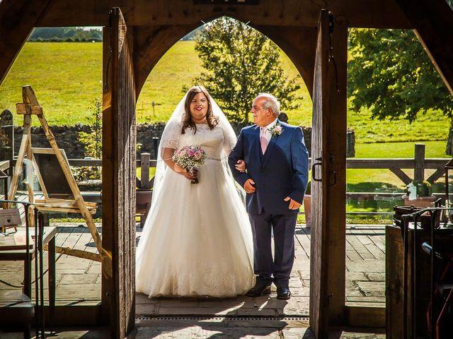 Jordan and Porshia's Wedding in Bibury, Gloucestershire 8
