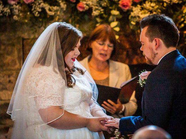 Jordan and Porshia's Wedding in Bibury, Gloucestershire 9
