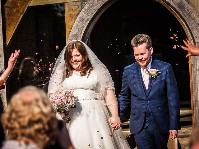 Jordan and Porshia's Wedding in Bibury, Gloucestershire 10