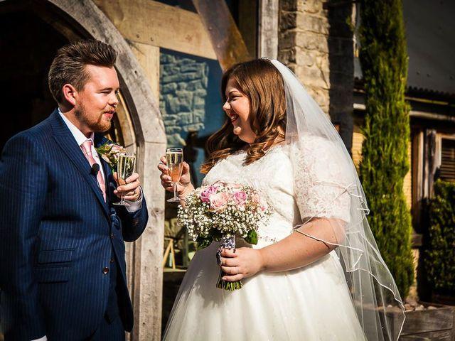 Jordan and Porshia's Wedding in Bibury, Gloucestershire 11