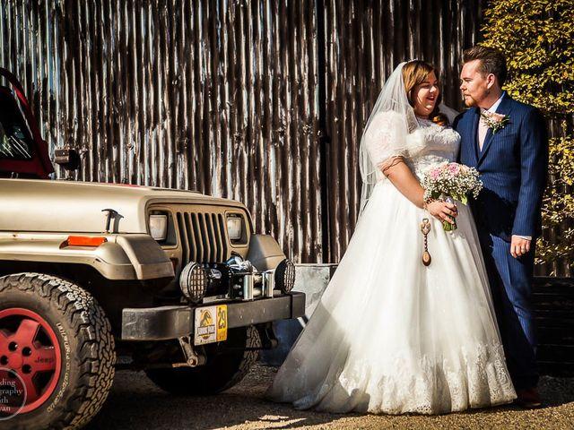 Jordan and Porshia's Wedding in Bibury, Gloucestershire 12