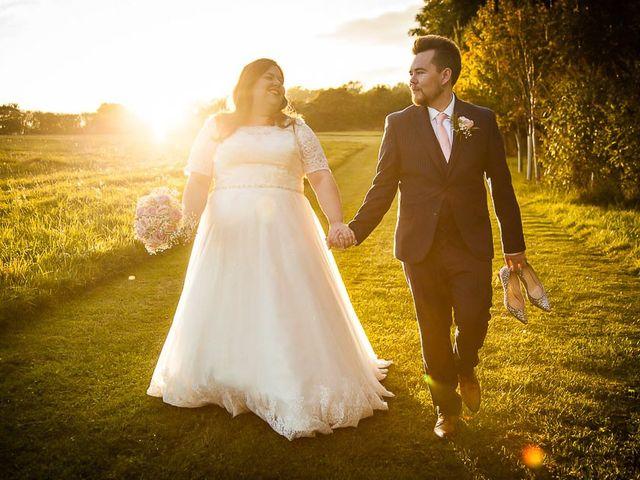 Jordan and Porshia's Wedding in Bibury, Gloucestershire 19