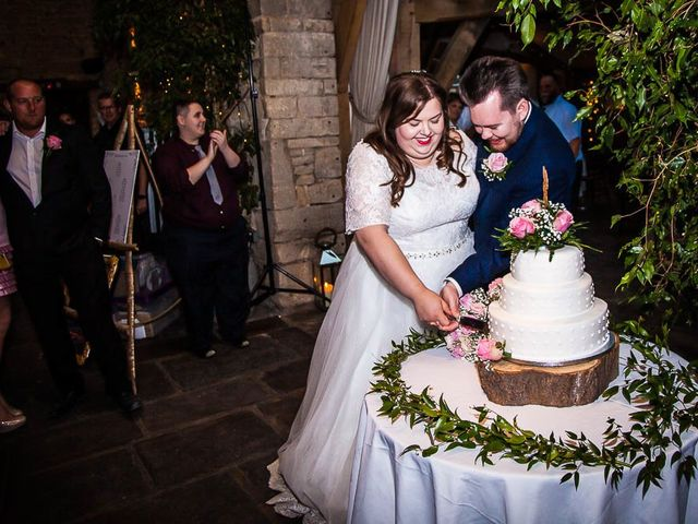Jordan and Porshia's Wedding in Bibury, Gloucestershire 21