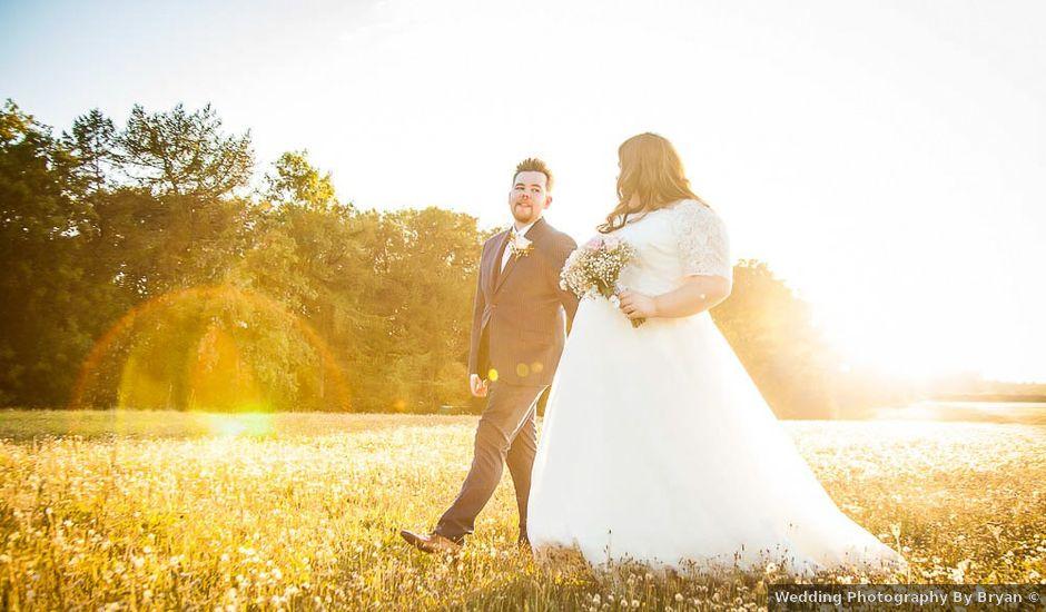 Jordan and Porshia's Wedding in Bibury, Gloucestershire