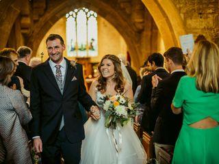 Amy & Ross's wedding