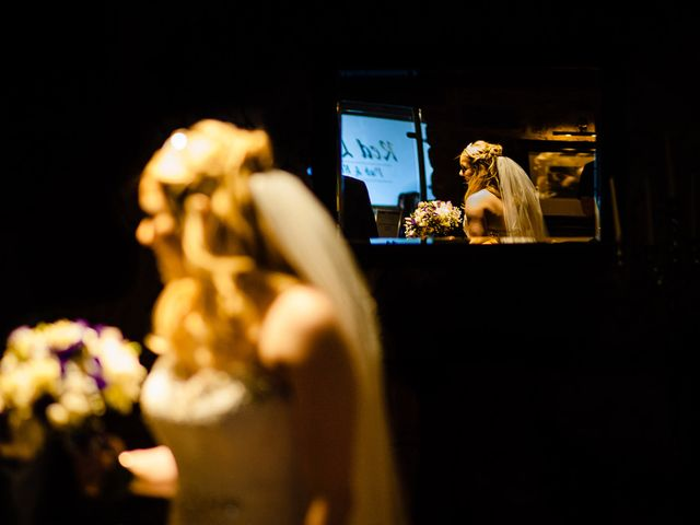 Andy and Sarah's Wedding in Peak District, Derbyshire 19