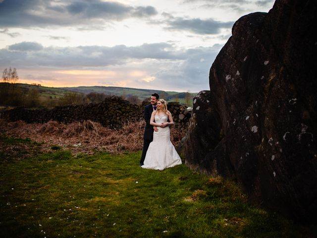 Andy and Sarah's Wedding in Peak District, Derbyshire 25