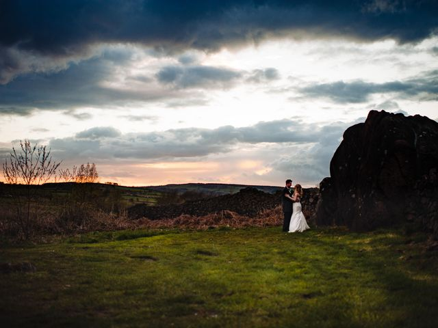 Andy and Sarah's Wedding in Peak District, Derbyshire 26