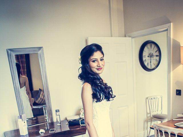 Sayijan and Vidya's Wedding in Alton, Staffordshire 9