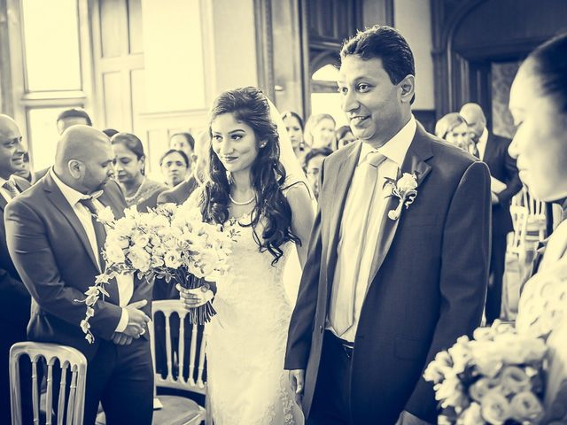 Sayijan and Vidya's Wedding in Alton, Staffordshire 11