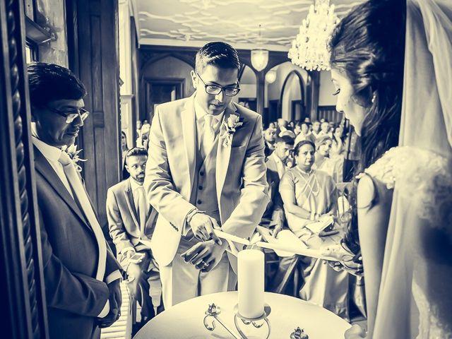 Sayijan and Vidya's Wedding in Alton, Staffordshire 12
