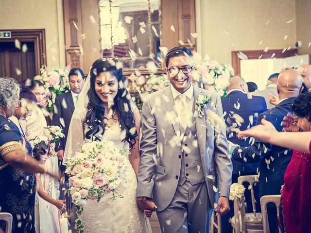 Sayijan and Vidya's Wedding in Alton, Staffordshire 13