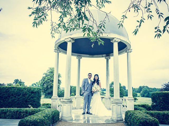 Sayijan and Vidya's Wedding in Alton, Staffordshire 14