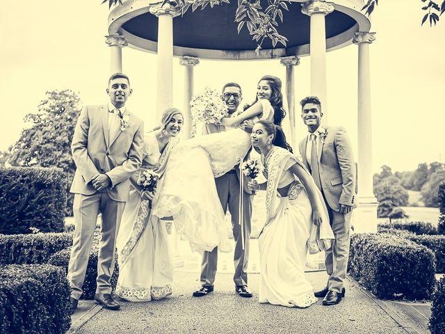 Sayijan and Vidya's Wedding in Alton, Staffordshire 15