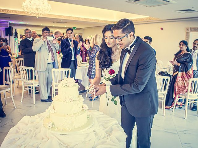 Sayijan and Vidya's Wedding in Alton, Staffordshire 19