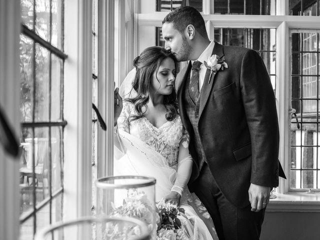 Sofiane and Shenaz's Wedding in Hatfield, Hertfordshire 21
