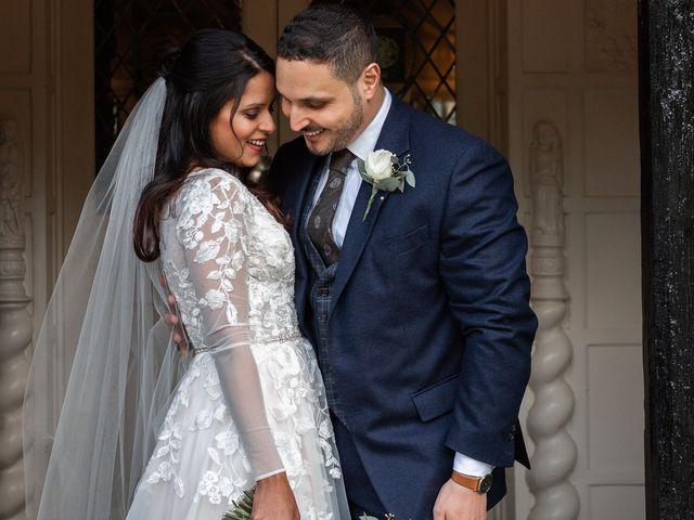 Sofiane and Shenaz's Wedding in Hatfield, Hertfordshire 24