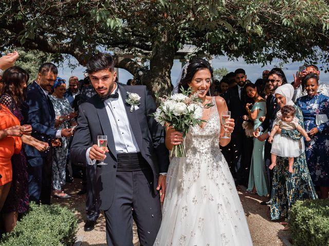 Sammi and Nina's Wedding in Alton, Hampshire 30
