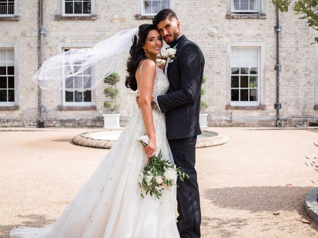 Sammi and Nina's Wedding in Alton, Hampshire 33
