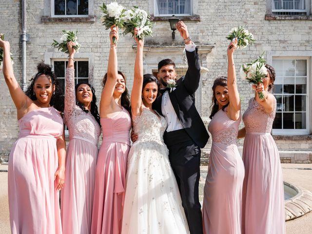 Sammi and Nina's Wedding in Alton, Hampshire 35