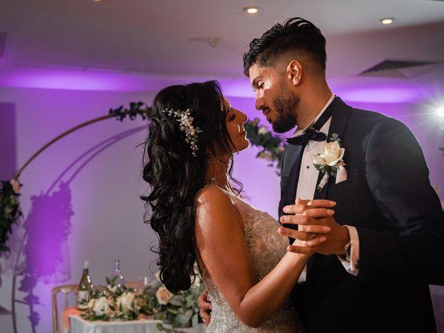 Sammi and Nina's Wedding in Alton, Hampshire 51