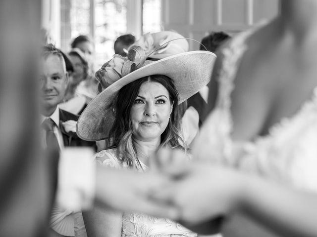 Andrew and Cora's Wedding in Elstree, Hertfordshire 20