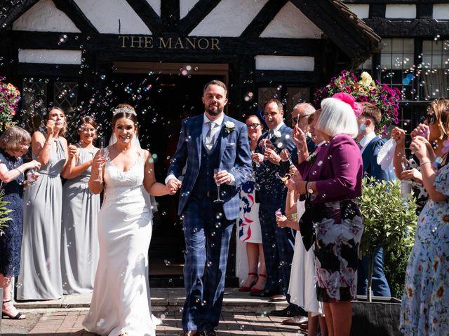 Andrew and Cora's Wedding in Elstree, Hertfordshire 21