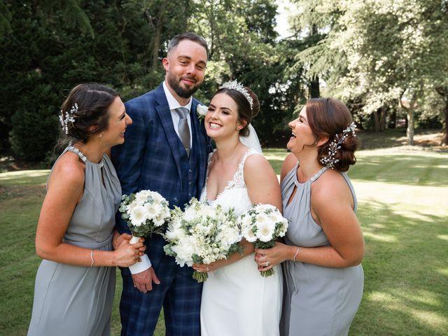 Andrew and Cora's Wedding in Elstree, Hertfordshire 23