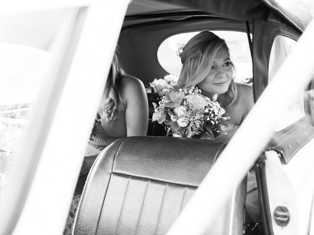 Leigh and Kirsty's Wedding in Nr Rugby, Warwickshire 12
