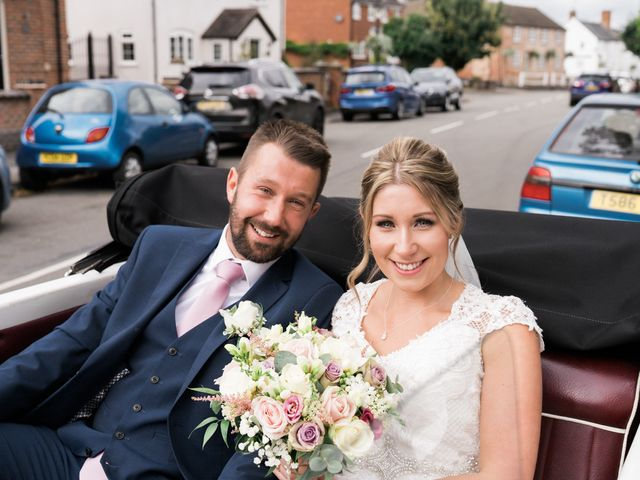 Leigh and Kirsty's Wedding in Nr Rugby, Warwickshire 13