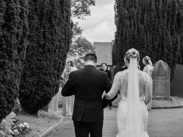Leigh and Kirsty's Wedding in Nr Rugby, Warwickshire 14