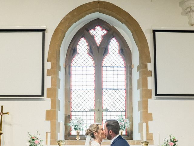 Leigh and Kirsty's Wedding in Nr Rugby, Warwickshire 17