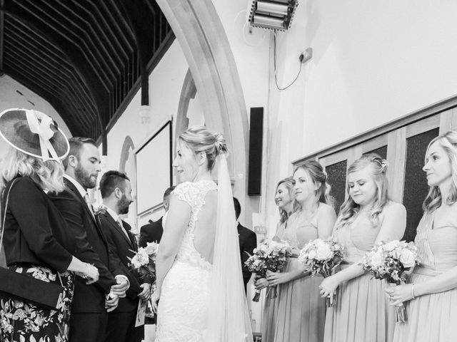 Leigh and Kirsty's Wedding in Nr Rugby, Warwickshire 18