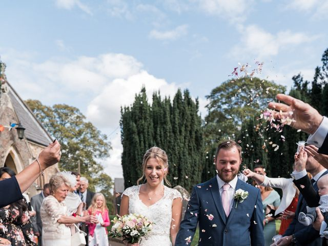 Leigh and Kirsty's Wedding in Nr Rugby, Warwickshire 22