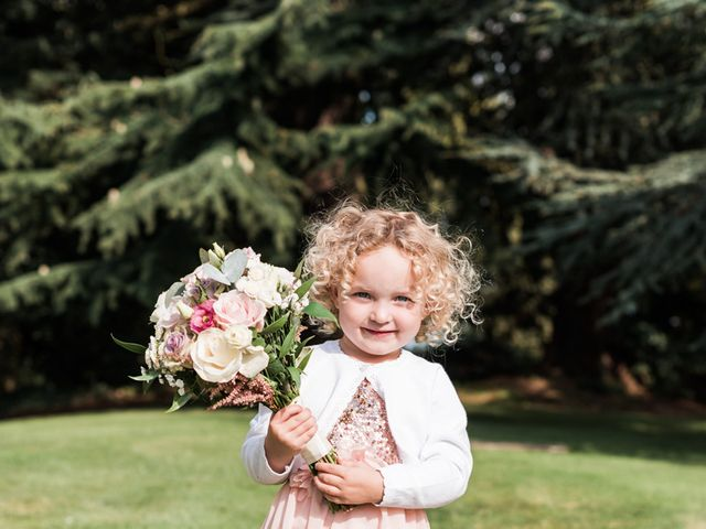 Leigh and Kirsty's Wedding in Nr Rugby, Warwickshire 28