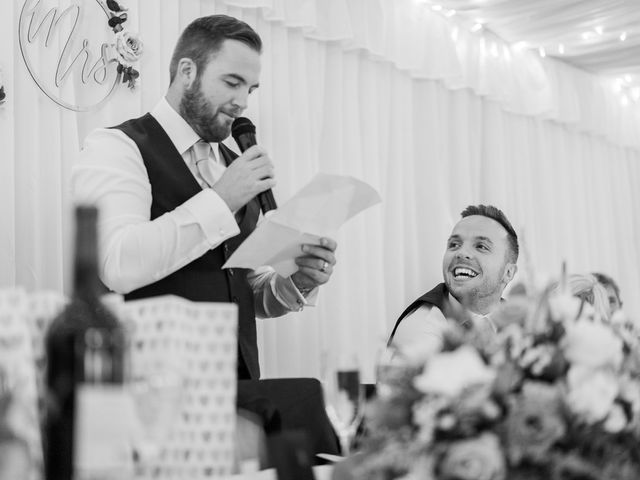 Leigh and Kirsty's Wedding in Nr Rugby, Warwickshire 40