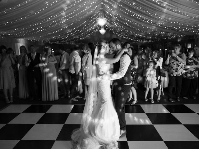 Leigh and Kirsty's Wedding in Nr Rugby, Warwickshire 46