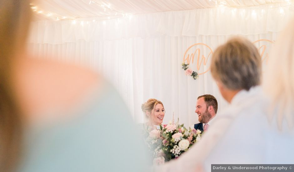 Leigh and Kirsty's Wedding in Nr Rugby, Warwickshire