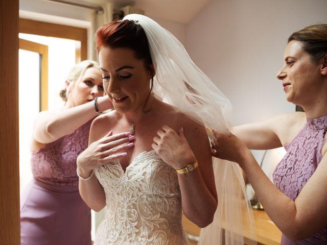John and Vicki's Wedding in Welwyn, Hertfordshire 4