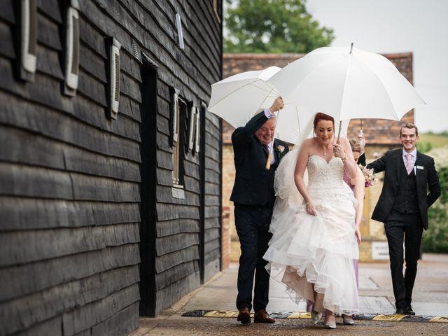 John and Vicki's Wedding in Welwyn, Hertfordshire 1